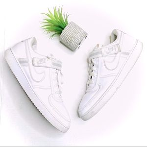 Nike Vandal Low White Sneakers with Velcro Strap